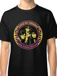 Stevie Ray Vaughan & Double Trouble Colour 2 Classic T-Shirt