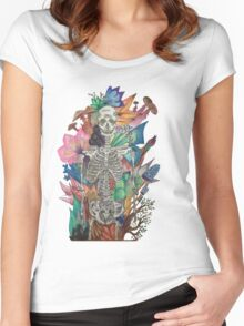 The Story of my bones  Women's Fitted Scoop T-Shirt
