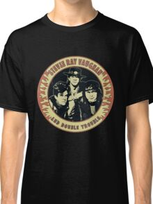 Stevie Ray Vaughan & Double Trouble Vintage Classic T-Shirt