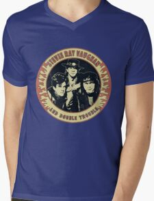 Stevie Ray Vaughan & Double Trouble Vintage Mens V-Neck T-Shirt