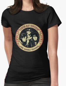 Stevie Ray Vaughan & Double Trouble Vintage Womens Fitted T-Shirt