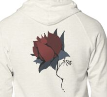 A Roze by Any Other Name (red) Zipped Hoodie