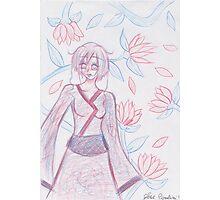 kimono girl Photographic Print