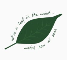 Leaf in the Wind One Piece - Long Sleeve