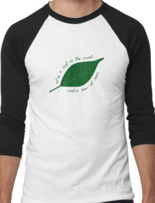 Leaf in the Wind Men's Baseball ¾ T-Shirt