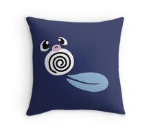 Sweet Poliwag Throw Pillow