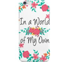 Alice world iPhone Case/Skin