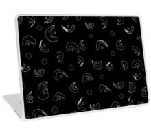 Grammar - Black and White version Laptop Skin