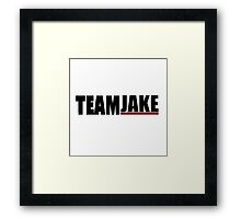 Team Jake | Scandal Framed Print