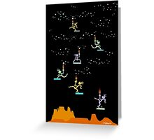 star lighters Greeting Card