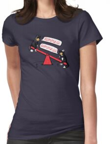 Seesaw Life Womens Fitted T-Shirt