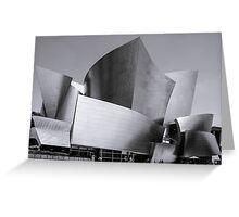Watl Disney Concert Hall Greeting Card