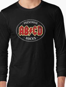 Vintage Preschool Rocks - dark Long Sleeve T-Shirt