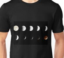 Supermoon Lunar Eclipse Unisex T-Shirt