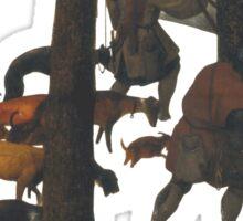The Hunters in the Snow - Pieter Bruegel Sticker