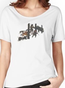 The Hunters in the Snow - Pieter Bruegel Women's Relaxed Fit T-Shirt