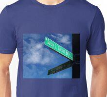 Martin LutherKing/Daisy Gatson Bates Historic Sign Unisex T-Shirt