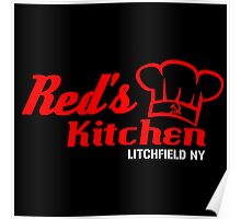 Red's Kitchen Poster