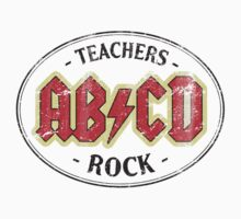 Vintage Teachers Rock - light T-Shirt