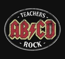 Vintage Teachers Rock - dark T-Shirt
