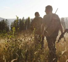 Evening Hunt Sticker
