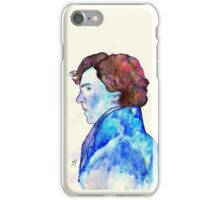 Sherlock Blue Watercolour iPhone Case/Skin