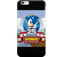 Sonic The Hedgehog 25th Anniversary iPhone Case/Skin