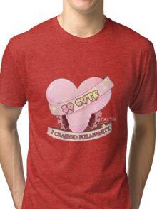 So Cute I Crashed Furaffinity Tri-blend T-Shirt