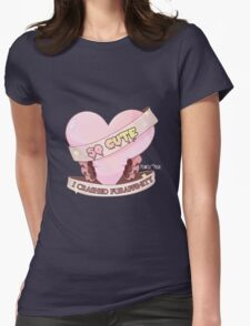 So Cute I Crashed Furaffinity Womens Fitted T-Shirt