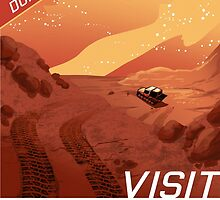 Visit Mars! by lynxcollection