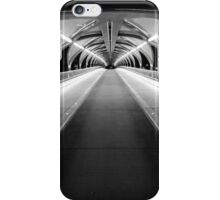 Light Tunnel in B&W iPhone Case/Skin