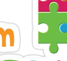I am Ausome - Awesome Autism Awareness T shirt Kids - Adult Sizes 2  Sticker