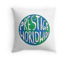 Vintage Prestige Worldwide Throw Pillow
