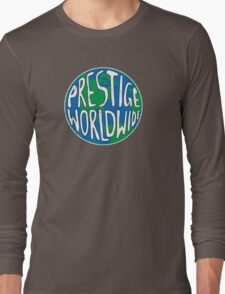 Vintage Prestige Worldwide Long Sleeve T-Shirt