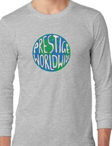 Vintage Prestige Worldwide Long Sleeve T-Shirt