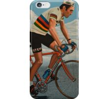 Eddy Merckx painting iPhone Case/Skin