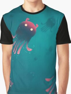 Sea Monsters - Into the Monsters Forest Graphic T-Shirt