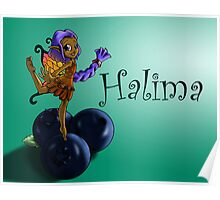 Blueberry Fairy Halima Poster