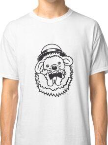 sir herr fliege hut gentlemen anzug winken baby kugel süßer kleiner niedlicher igel  Classic T-Shirt