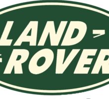 Land Rovers are Legendary Sticker