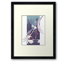 Kawoshin - Neon genesis Evangelion Framed Print