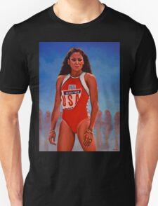 Florence Griffith - Joyner painting Unisex T-Shirt