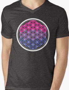 bi-sacred geometry Mens V-Neck T-Shirt