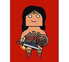 Wonder Woman! Photographic Print