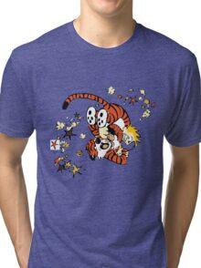 calvin and hobbes 1 Tri-blend T-Shirt