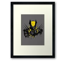 Mutant Rage Framed Print