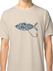 Jesus Fish Lure Classic T-Shirt