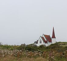 Church Peggy's Cove by Charlotte Martina
