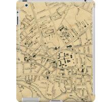 Vintage Map of Cambridge Massachusetts (1880)  iPad Case/Skin
