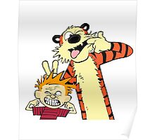 calvin and hobbes 2 Poster
